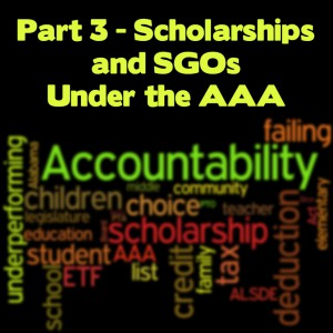 Part 3 - Scholarships and SGOs - AAA