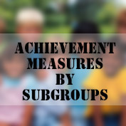 Measuring Achievement by Subgroups