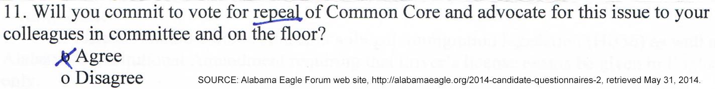 Eagle Forum Question