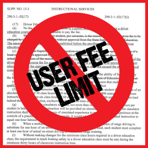 User Fee Limit Eliminated