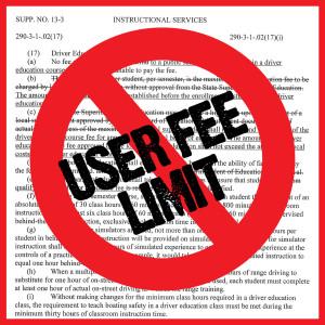 User Fee Limit Eliminated