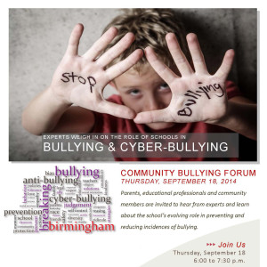 Community Forum Sept 18