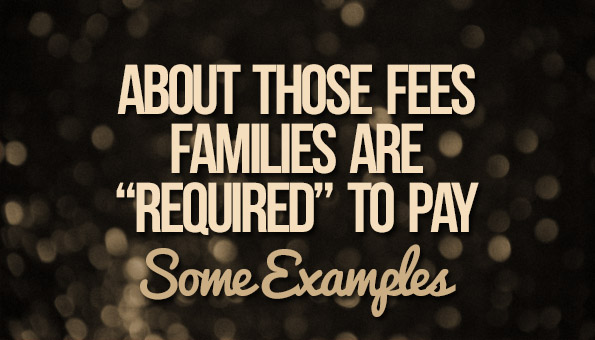 About Those Fees