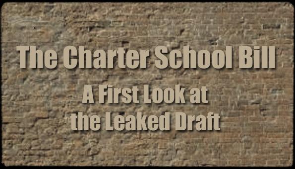 Charter School Bill