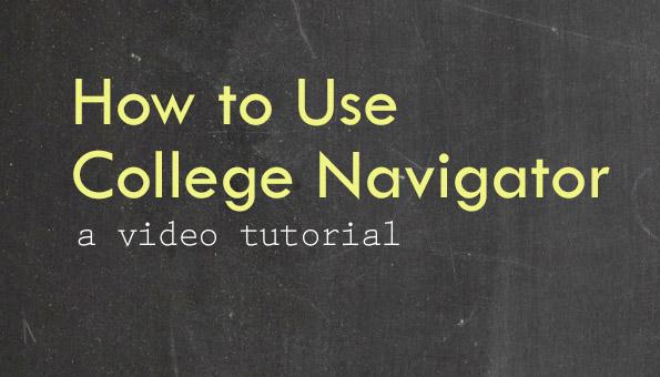 College Navigator tn