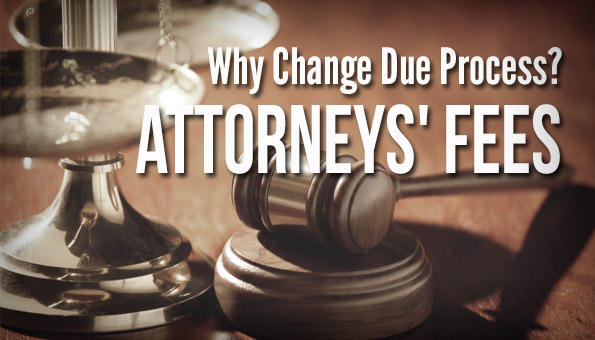 Due Process Attorneys Fees