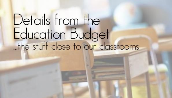 ETF Budget Details