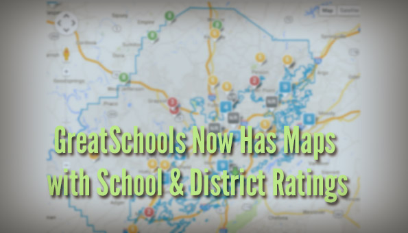 GreatSchools Ratings Map