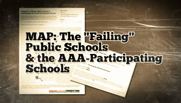 MAP AAA and Failing Public Schools 2016