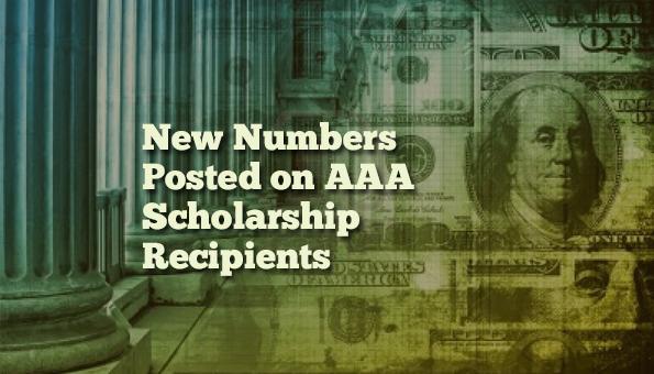 New AAA Numbers