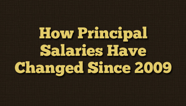 Principal Salaries Change 2009-2015