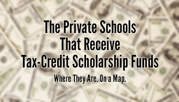 Private Schools Receiving Scholarships