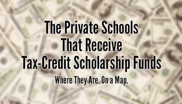 Private Schools Receiving Scholarships