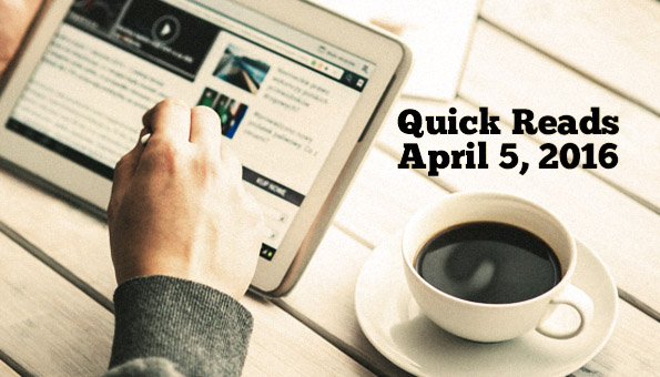 Quick Reads April 5
