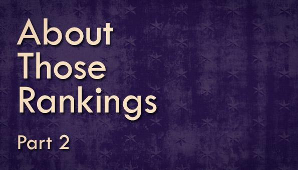 Rankings Part 2-1