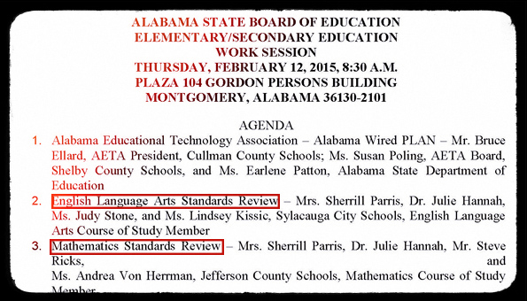 SBOE Work Session 021215
