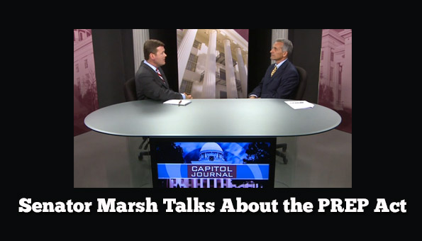 Sen Marsh Talks About the PREP Act