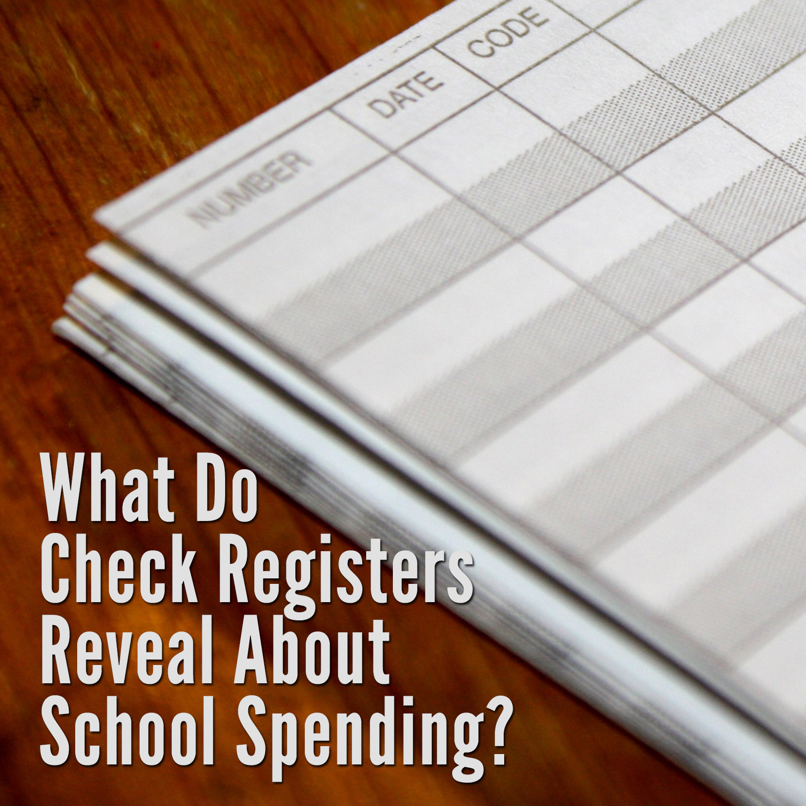 alabama school connection what do check registers reveal about