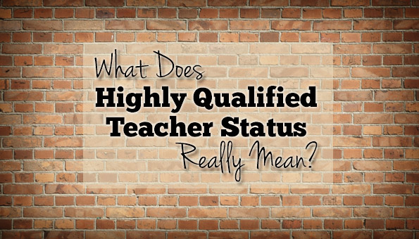 Alabama School Connection » What Does Highly Qualified Teacher